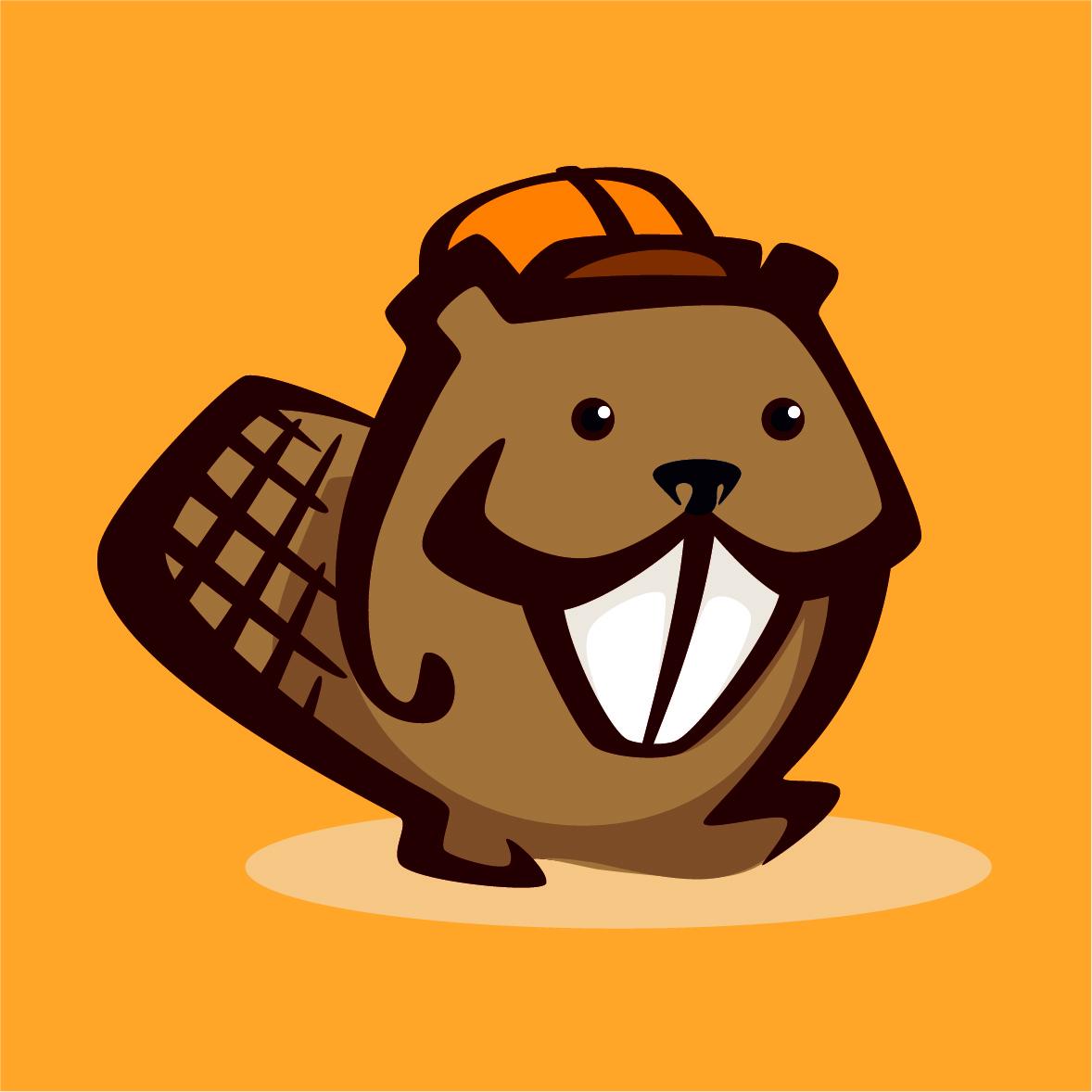 Beaver-on-Orange